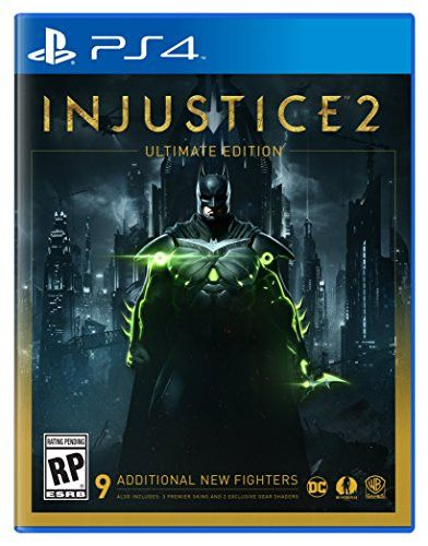 Brand: Warner Home Video - Games Edition: Ultimate ESRBAge Rating: Rating Pending Features: - With every match you'll earn gear to equip, customize and evolve your favorite DC Super Hero or Super-Vill