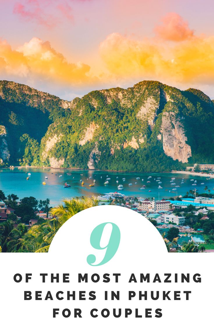 9 of the Most Amazing Beaches in Phuket for Couples. With more than 30 glorious beaches fringing its borders, Phuket is almost synonymous with a life of sun, sand and sea. Whether you want to sunbathe in isolation, pack a picnic, swim in crystal clear waters, witness stunning corals, pamper yourself with a beach massage or just escape the crowds, here are 9 of the best beaches in Phuket for couples. #phuket #Thailand