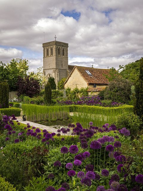Haddenham Church from Manor Farm by Damian_Ward on Flickr Buckinghamshire,England
