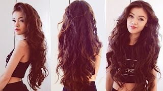 wavy hair without heat - YouTube