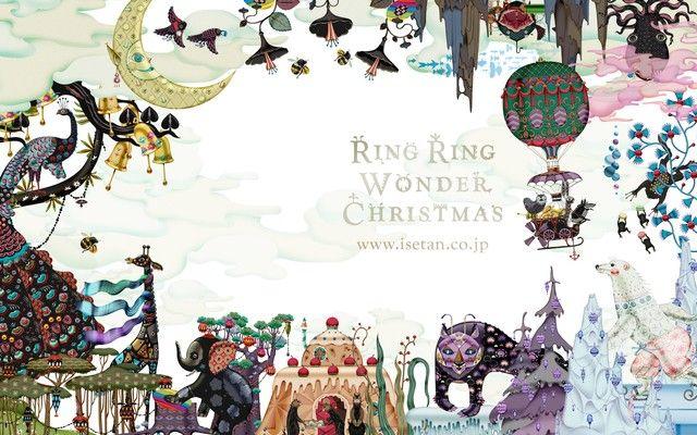 伊勢丹のクリスマスディスプレー : FK's Blog