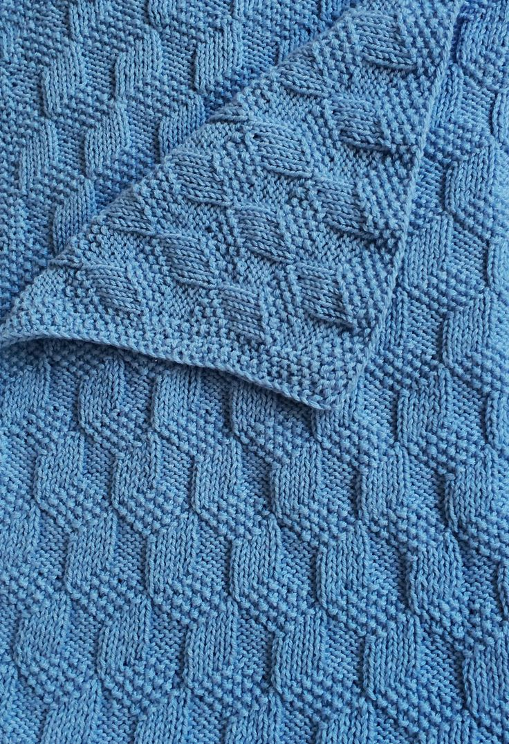 Knitting Pattern Tumbling Blocks