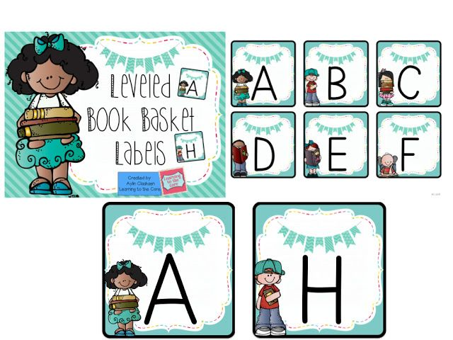Free classroom library labels for your book baskets (F&P aligned)!