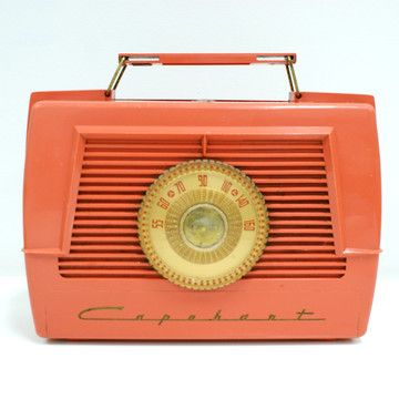 50s Pink Radio now featured on Fab.