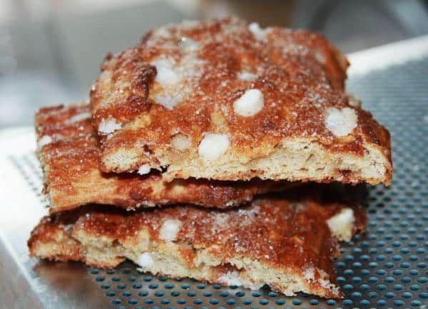 Les pains à la grecque (recette de biscuit de Bruxelles)