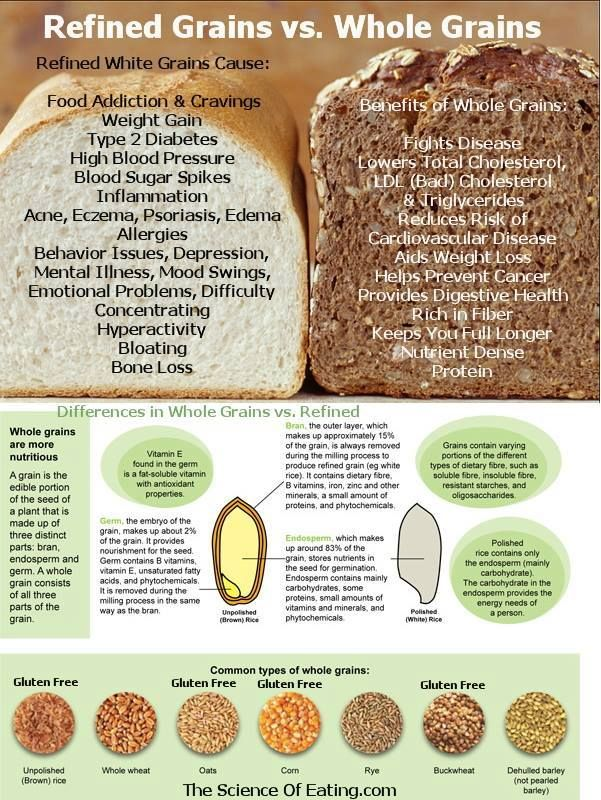 Examples of whole grains choice image example of resume for student.
