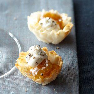 mini cheese ball recipe in fillo shells mini cheese balls phyllo mini ...
