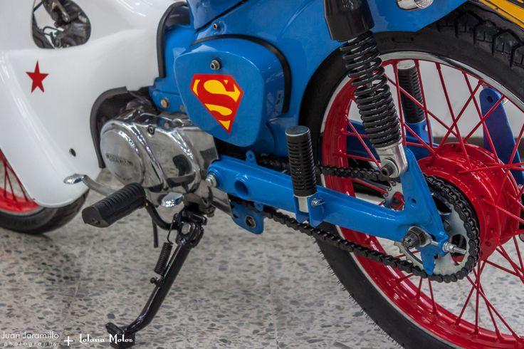 """LM#58 """"Supergirl"""" Honda C70"""