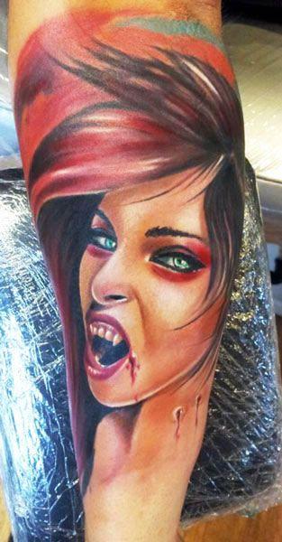 Tattoo Artist - Andrzej Niuniek Misztal - horror tattoo | www.worldtattoogallery.com