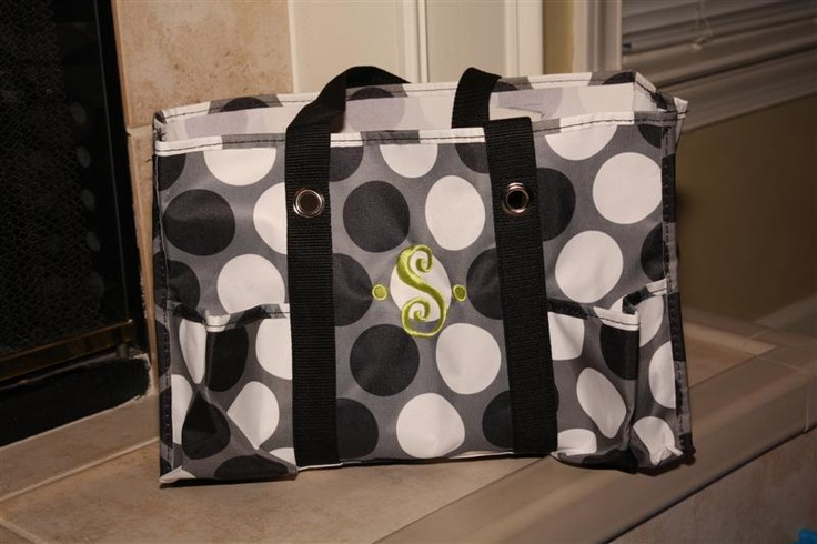 thirty one large utility tote - good to have in your car for everything you need and want to keep in one place!