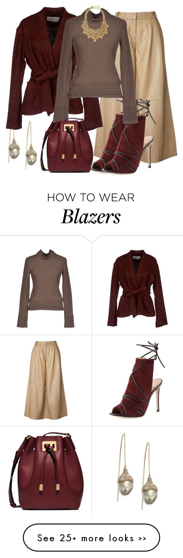 """Sweater Weather"" by chris1017 on Polyvore featuring Alexis Bittar, TIBI, Mauro Grifoni, Gianvito Rossi, Vicedomini, Oscar de la Renta, Michael Kors and sweaterweather"