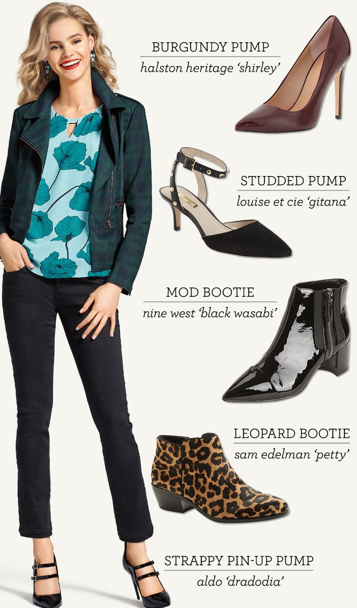 Fashion look from january 2016 featuring pink opaque tights round - Check Out Our Round Up Of Fall S Must Have Shoes And Boots On The Cabi Blog