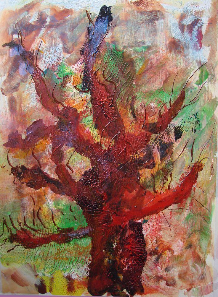 Na00320 acryl 50x70 by wim visscher    http://wim-visscher.tumblr.com www.wimvisscher.nl