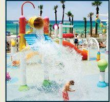 holiday inn resort beachfront hotel in panama city beach, florida