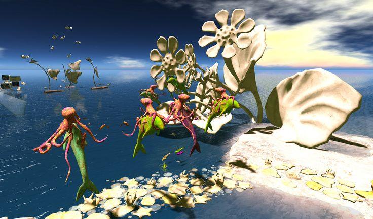 Sea Life   by Ciaran Laval