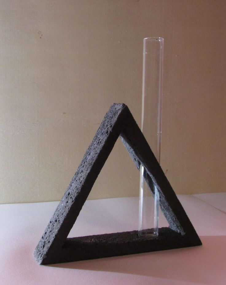 Hard to realize but deserves - the triangular concrete frame