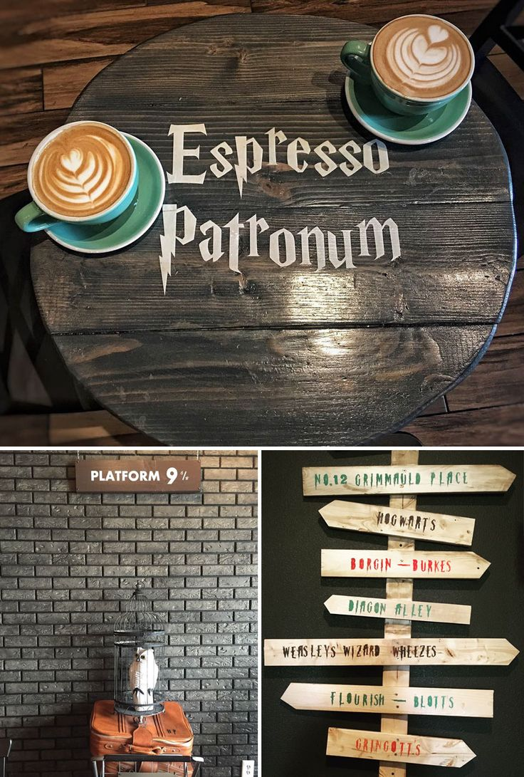 Serious Coffee, With A Hint Of Magic In Harry Potter Themed Cafe In Toronto, Canada
