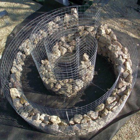 gabion spiral (how to - HUN)