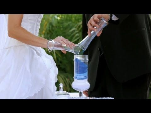 How To Perform A Sand Ceremony Wedding Planning Youtube World Wide Weddings Pinterest