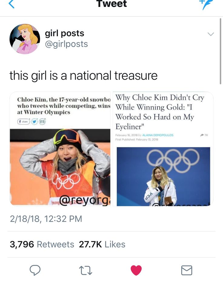 Chloe Kim USA Olympic snowboarder who won gold and also while tweeting at the same time