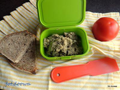 Moje Małe Czarowanie: Pasta z soczewicy i oliwek