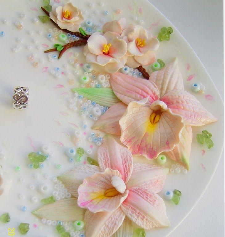 Фото: весна свадебная тарелочка для обручальных колец