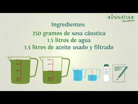 Cómo hacer jabones ecológicos caseros :: Proceso en frío para fabricar jabón en casa