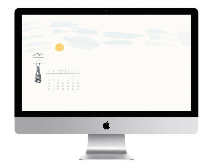 Calendar On Wallpaper Mac : Best october calendar ideas on pinterest