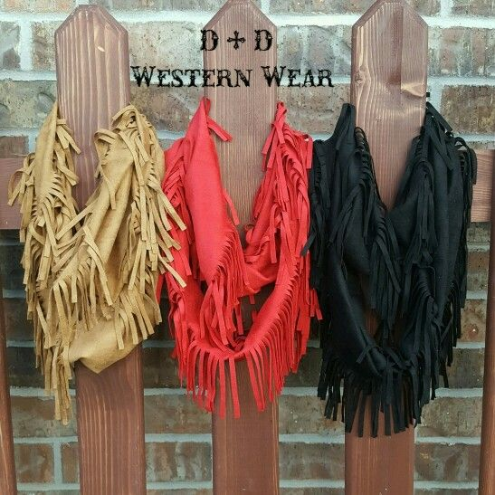 Shania Scarves  Rust, Red & Black  Order at www.danddwesternwear.com