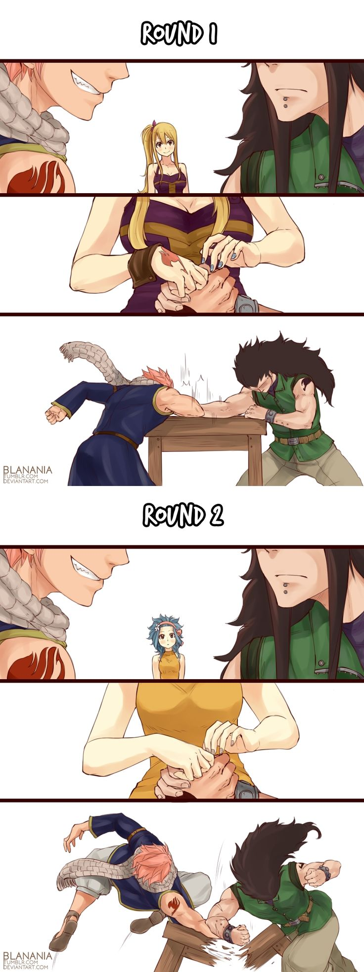 Arm Wrestling by blanania on DeviantArt