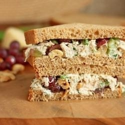 WOW! Ive been using this new weight loss product sponsored by Pinterest! It worked for me and I didnt even change my diet! I lost like 26 pounds,Check out the image to see the website, Chicken Salad Sandwiches