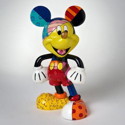 Mickey Mouse Figurine. Disney by Romero Britto.