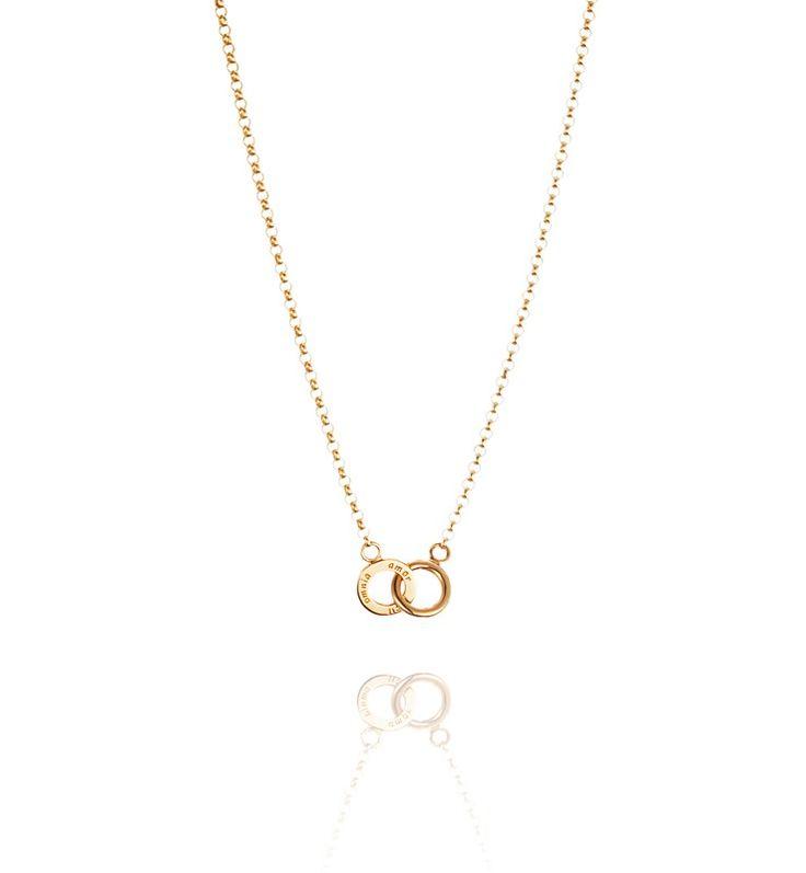 EFVA ATTLING Mini Twosome Necklace 42/45