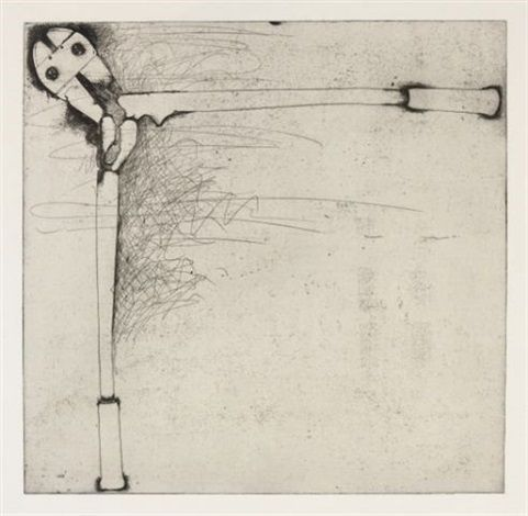 Bolt Cutters (first state) by Jim Dine