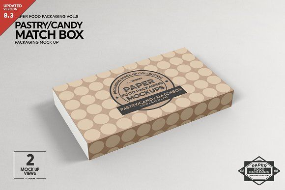 Download Match Box Style Packaging Mockup Fashion Box Packaging Mockup Free Packaging Mockup