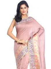 Elegant Tissue Weaving Work Traditional  Saree