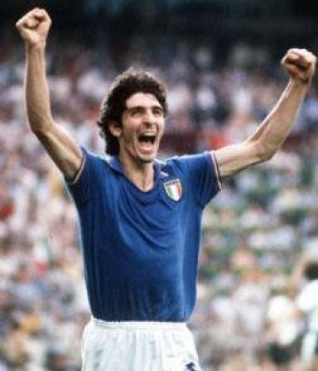 Paolo Rossi,Italy,6 goals