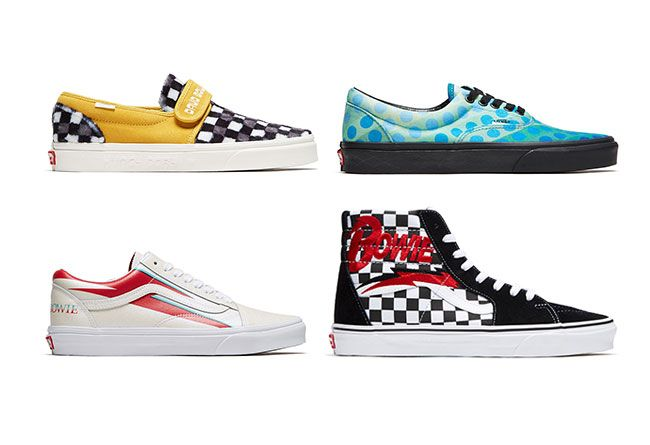53bbbeca Vans set to release limited edition David Bowie themed sneakers ...