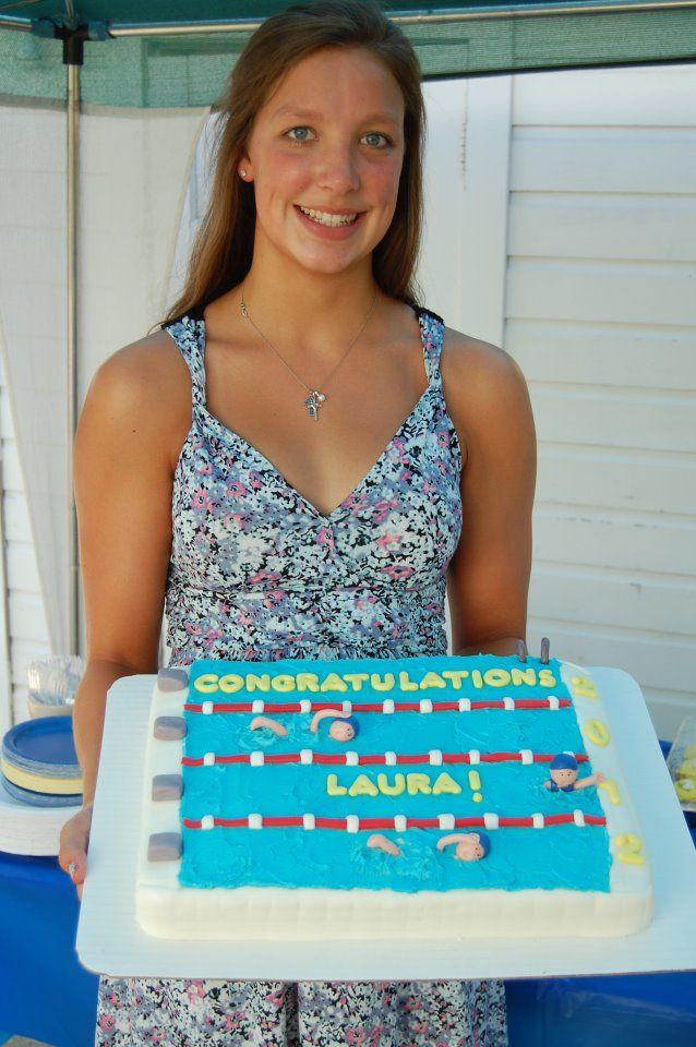 Swimming Cake Ideas