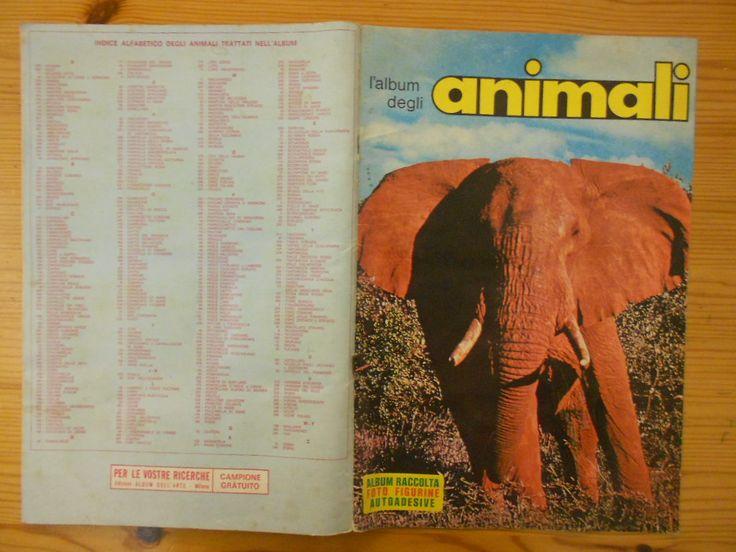 15 euro. L'album degli animali, ed. album dell'arte. Condizioni buone. Incompleto di figurine 144 su 375.