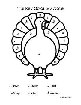 Thanksgiving is almost here! Bring out your turkey activity sheets to celebrate its arrival #piano #teach #color