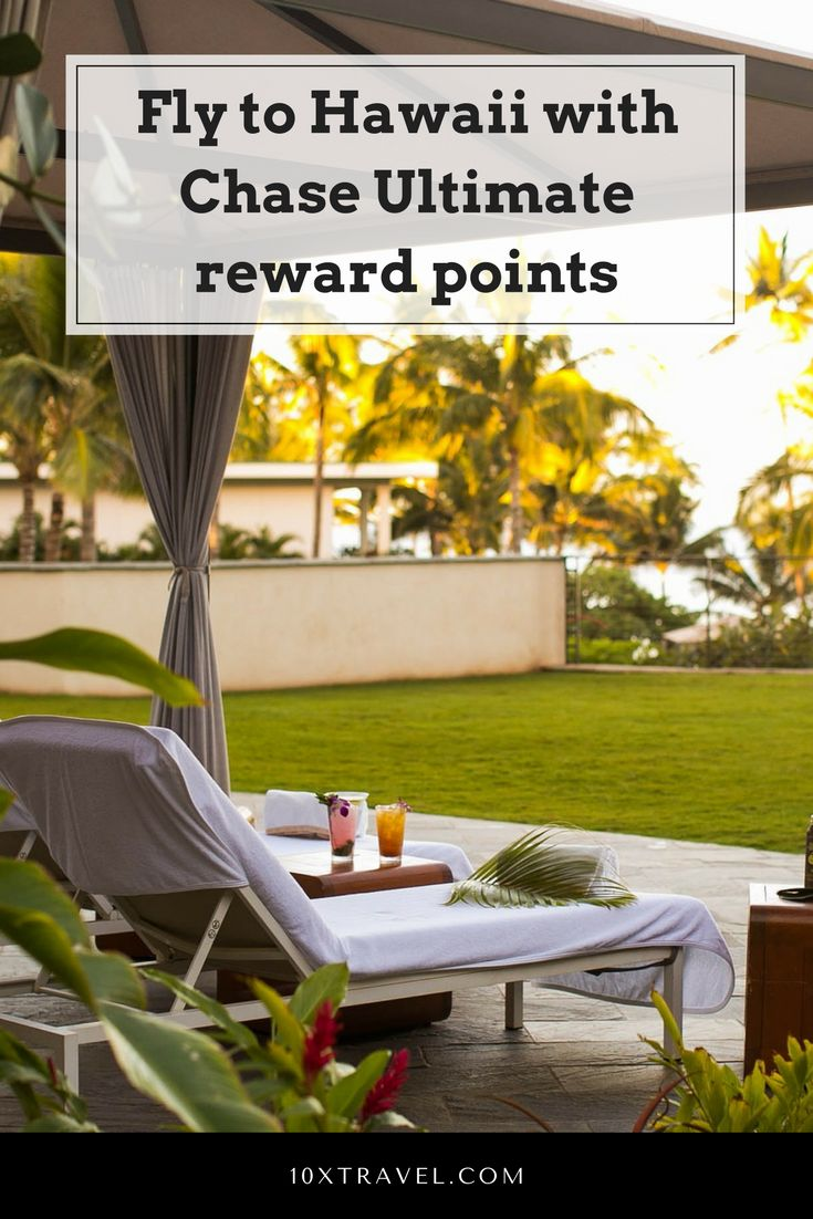 Fly to Hawaii, go to Hawaii, visit hawaii, how to redeem chase point, ways to fly to Hawaii #chaserewards #chase #creditcards #hawaii #visithawaii #chaseultimaterewards #travelhacking #travelcheaper #tropicalvacation #tropicaldestination
