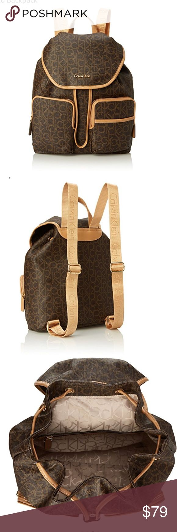 Last chance Calvin Klein backpack new Brand-new Calvin Klein backpack perfect for traveling or just for shopping Calvin Klein Bags Backpacks
