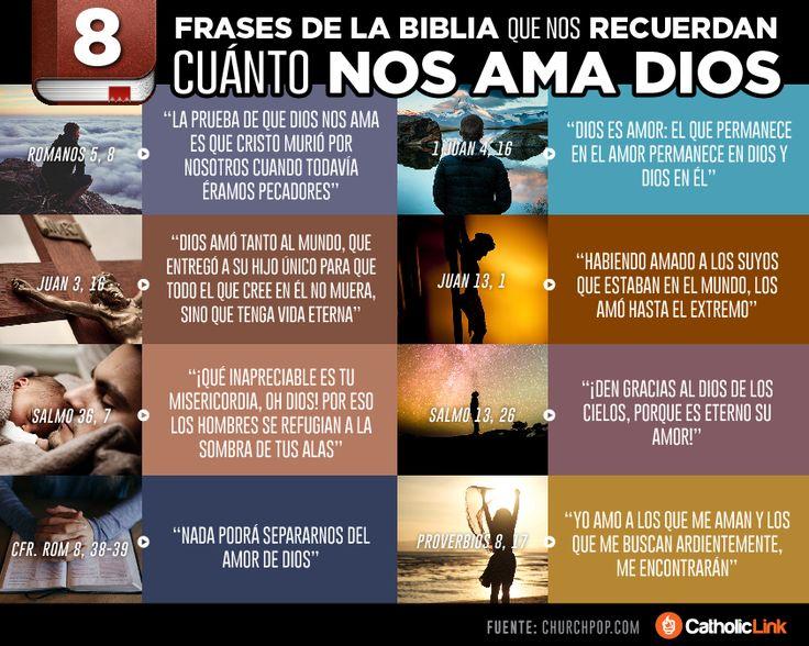Biblioteca de Catholic-Link - Infografía: 8 frases de la Biblia que nos...