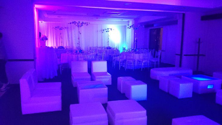 Blue Party, salas loft