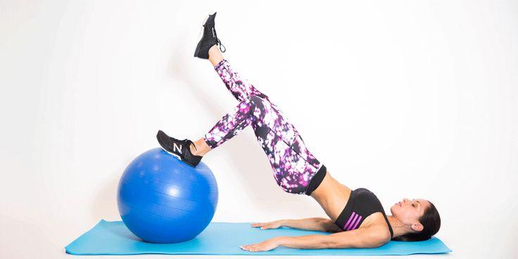 Muscler son fessier : le pont à une jambe 3 séries 10 à 15 rep