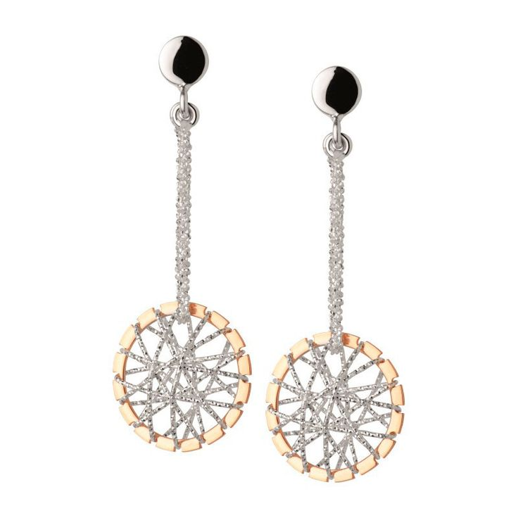 Links of London - Dreamcatcher Stiletto Drop Sterling Silver / Rose Gold