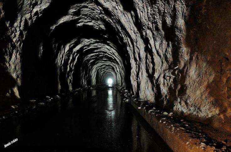 Dark tunnel....