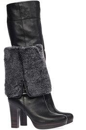 Zwarte Ugg laarzen Savoie boots