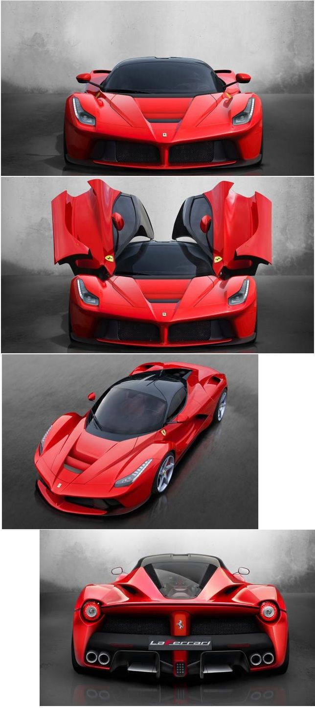 "the new Ferrari ""LaFerrari"". Shame about the name. It will be the Ferrari ""Laf"""